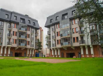 Три малоэтажных корпуса ЖК Коломяги Эко